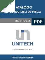 Catalogo Unitech 2017