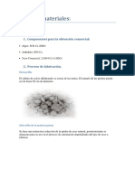 Ficha de Materiales(Yeso)