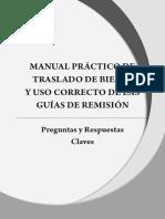 Manual Practico Traslado de BS y Uso Correcto Guias de Remisión