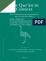 Heidemann Quran in Context 2010 Representation