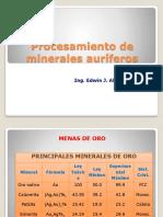 Tipos de Proceso en metalurgia de minerales auriferos