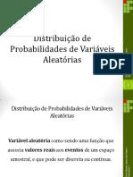 8 - Distribuição de Probabilidades
