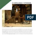 Arquitectura Carolingia y Otoniana