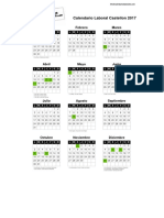 Castellon Calendario Laboral 2017