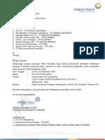 Undangan Rapat Pembahasan Pelaksanaan Loading Test di Taxiway WC1 Tanggal 22 September 2017.pdf