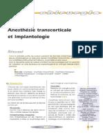 2004 Guillaume Anesthésie Transcorticale Et Implantologie Implantologie