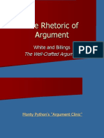 The Rhetoric of Argument 2