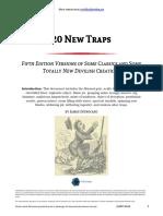 D&D 5e 20 New Traps.pdf