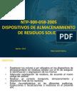 PresentaciónNTP 900 058 2005