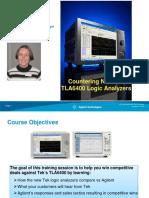 Countering New Tek TLA6400 Logic Analyzers