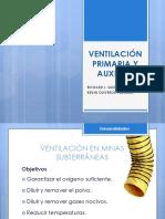 Ventilación Primaria y Auxiliar
