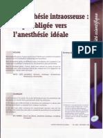 1998 Villette L'Anesthésie Intraosseuse Etape Obligéee Versl'Anesthésie Idéale Journal Dentaire Du Québec