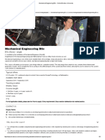 Mechanical Engineering BSc - Oxford Brookes University