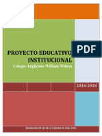 Proyecto Educativo Insitucional Col Angl William Wilson