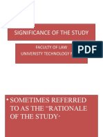 Lrm Significance of the Study Scope and Limitation Printing