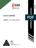Manual 9 Inch Chipper