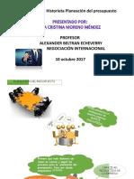 Cristina Evidencia 8 Historieta Planeacion Del Presupuesto Desarrollada PDF