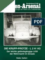 Podzun-Pallas - Waffen-Arsenal Sonderband S-66 - Die Krupp Protze L 2 H 143 - Walter E. Seifert (2002)