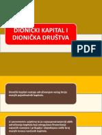 Uvod Dionička Društva i Dionički Kapital 2016-2017