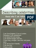 Describing Celebrities