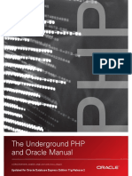 Underground Oracle PHP