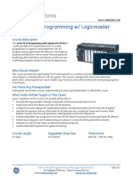 CBS-017 Series 90-30 Programming With Logicmaster Part 1