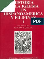 Historia de La Iglesia en HISPANOAMÉRICA