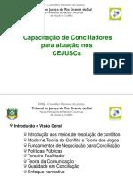 Curso de Conciliadores Para CEJUSCs 2014.Ppt Rev. 2016