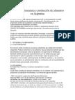Soberanía Alimentaria y Producción de Alimentos en Argentina