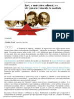 Mises Brasil - A Escola de Frankfurt, o Marxismo Cultural, e o Politicamente Correto Como Ferramenta de Controle