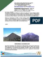 Reporte Preliminar Erupcion Pacaya 27 Mayo 2010
