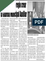 05-10-17 Aprueba Cabildo regio crear la Guardia Municipal Auxiliar