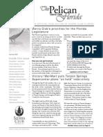 Spring 2009 Pelican Newsletter, Florida Sierra Club