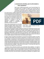 Cambio Climatico y Capitalismo