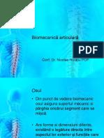 Biomecanică Articulară Curs II.1
