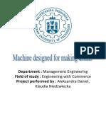Machine Designed for Making Drinks