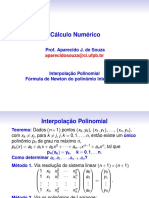 Interpolacao Newton