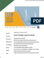 EFT São Paulo_ Acróstico Fibromiálgico, Terapêutico e Libertador