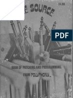 The Source BOOK OF PATCHING AND PROGRAMMING
