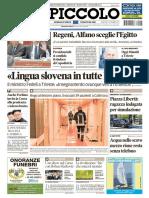 Il Piccolo Trieste 5 Settembre 2017