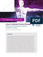 How to Optimize Human Biology