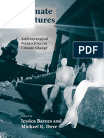 (Yale Agrarian Studies Series) Jessica Barnes, Michael R. Dove-Climate Cultures_ Anthropological Perspectives on Climate Change-Yale University Press (2015)