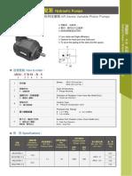 AR Series Variable Piston Pump
