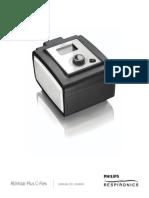 CPAP - PR Remstar Plus Spanish User Manual