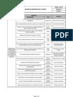 4 Matriz Requisitos Del Cliente