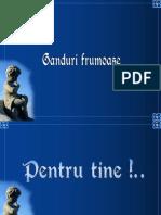 Gandurifrumoasepentrutine.