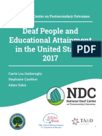 deafpeopleandeducational attainment white paper