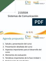 Sistema de Comunicaciones - Web1