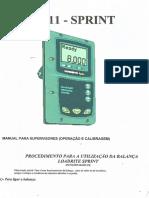 Manual Balança Carregadeira Lr911 - Sprint