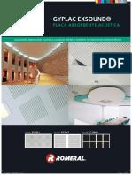 Placa Acustica ExSound Manual Instalacion
